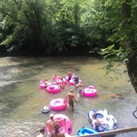 Tubers on the Dan River
