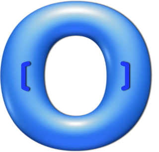 Blue tube