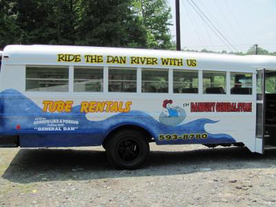 Tubing Shuttle Bus